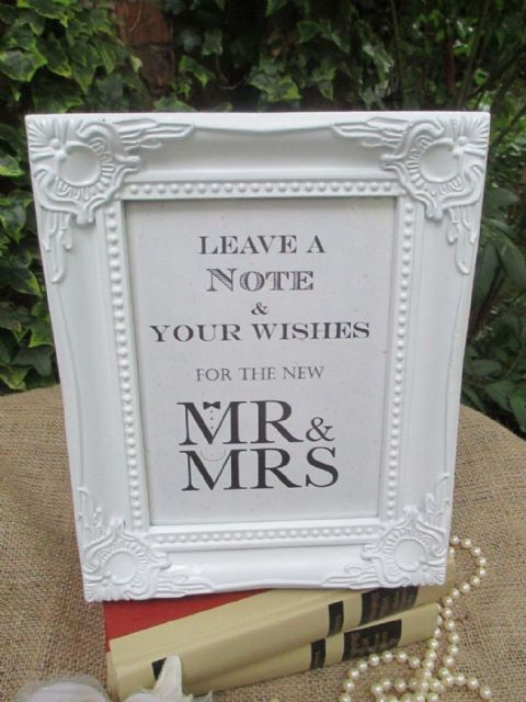 Wedding Wish Tree Sign